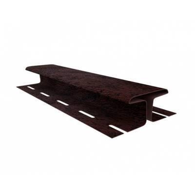 H-планка соединительная Ю-Пласт, Кирпич коричневый