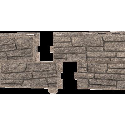 Стоун-Хаус Ю-Пласт, Сланец Бежевый (двойной замок)
