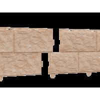 Стоун-Хаус Ю-Пласт, Камень золотистый (двойной замок)
