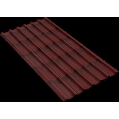 Черепица Onduline 3D Tile Красная 1950х960 мм