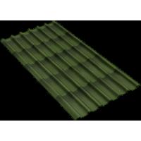 Черепица Onduline 3D Tile Зелёная 1950х960 мм