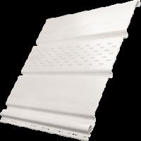 Софит Ю-Пласт, Белый с частичной перфорацией