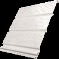Софит Ю-Пласт, Белый с полной перфорацией