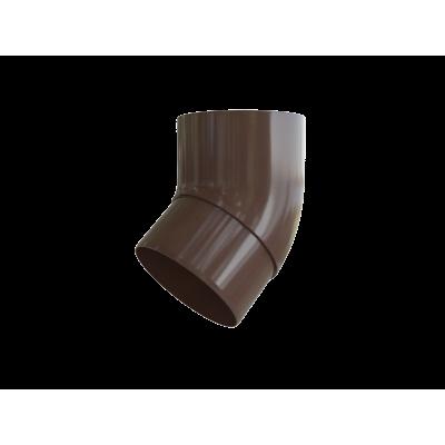 Колено трубы 45° ПВХ Альта-Профиль Элит (Коричневый)