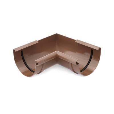 Bryza Угловой элемент внутренний Ø125 мм (Коричневый)