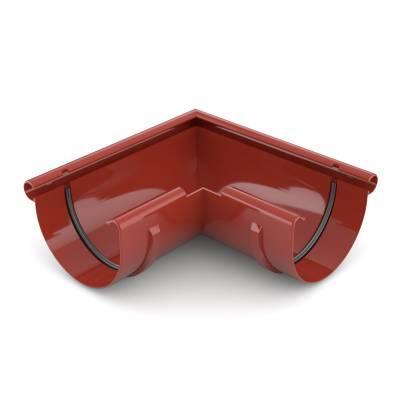 Bryza Угловой элемент внешний Ø125 мм (Красный)